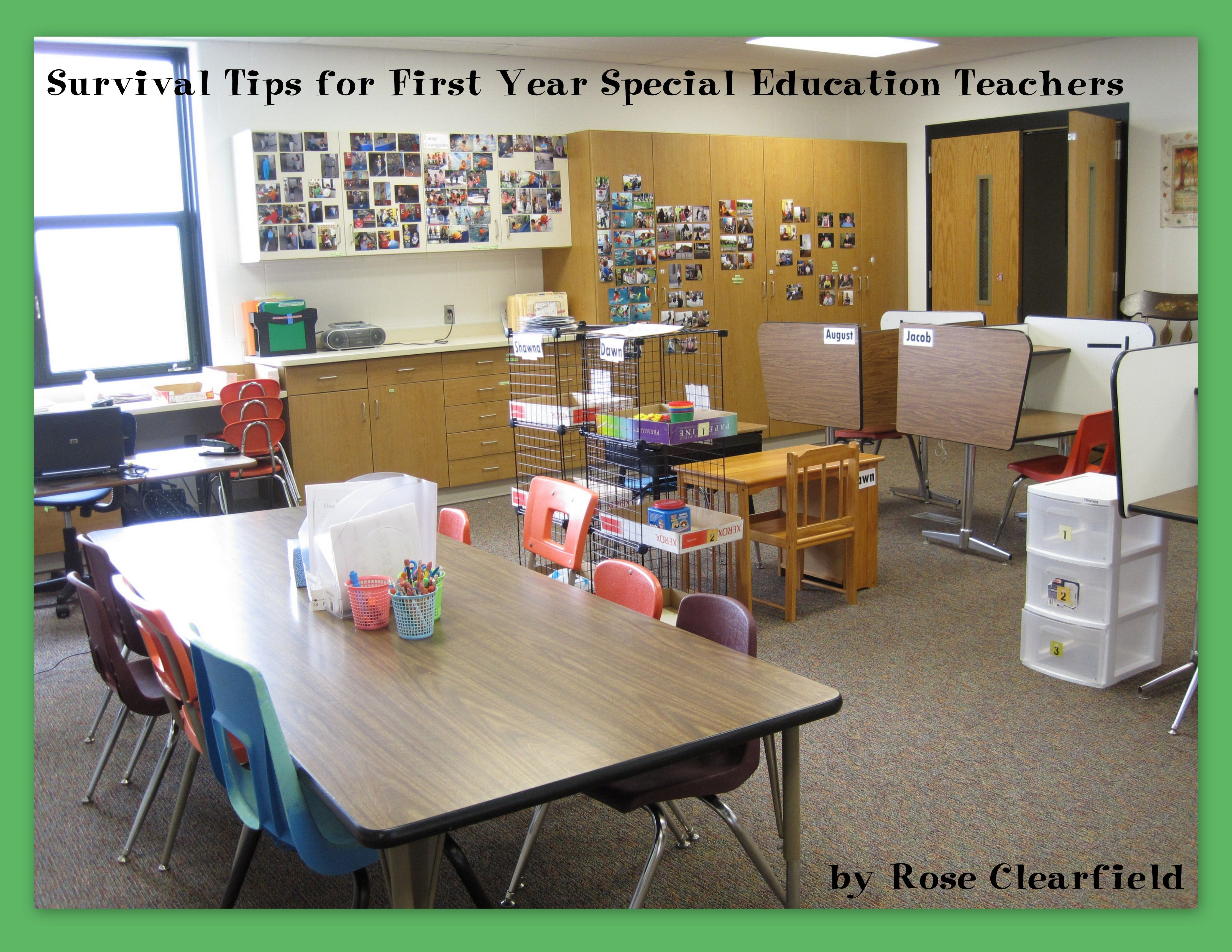 Survival Tips for First Year Special Education Teachers | Special ...