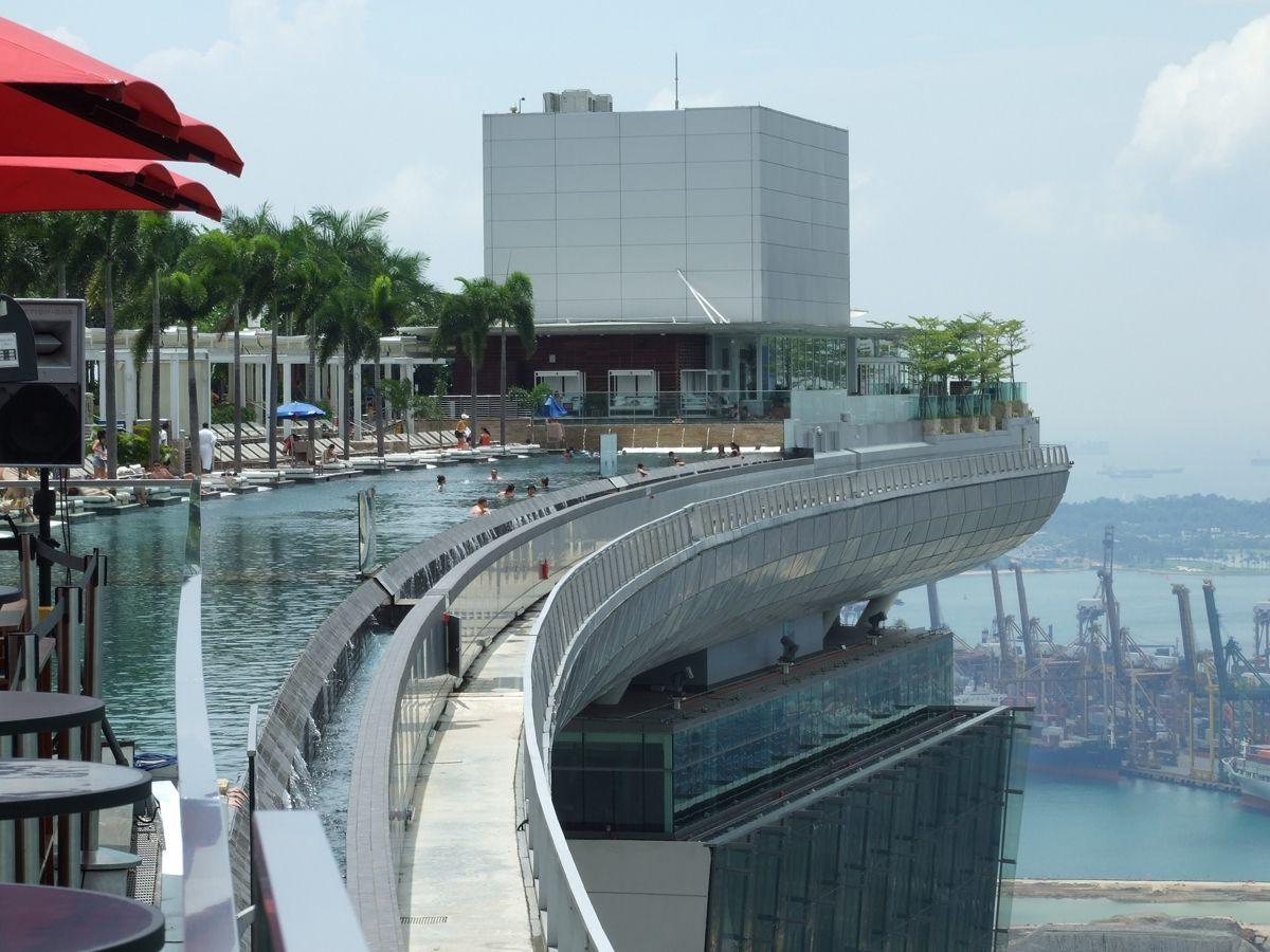 Singapour Piscine Sur Le Toit Yt26