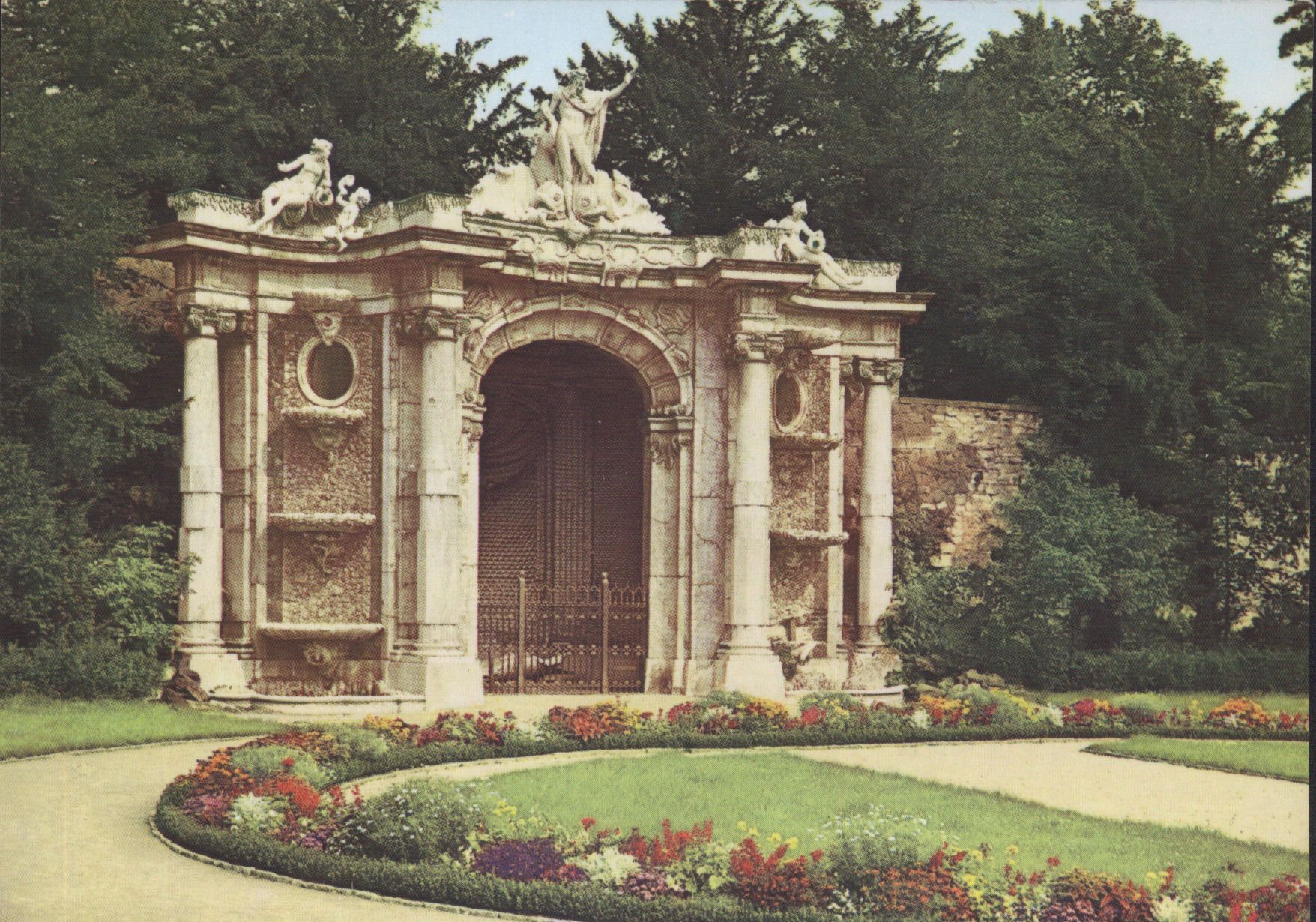 The Neptune Grotto Close To The Obelisk Entrance In Sanssouci Park Potsdam Germany Was Created By Fre Frederick The Great Potsdam Potsdam Germany