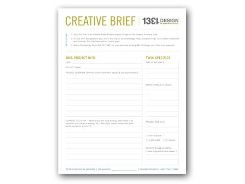 1331Design_Howtocreativebrief | Digital Gifting | Pinterest