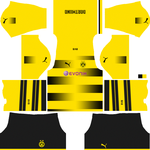 66b5072d0 Get the new Borussia Dortmund dream league  soccer kits and import it in  the game.