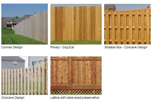 Wood fence images google search fences pinterest for Types of fences