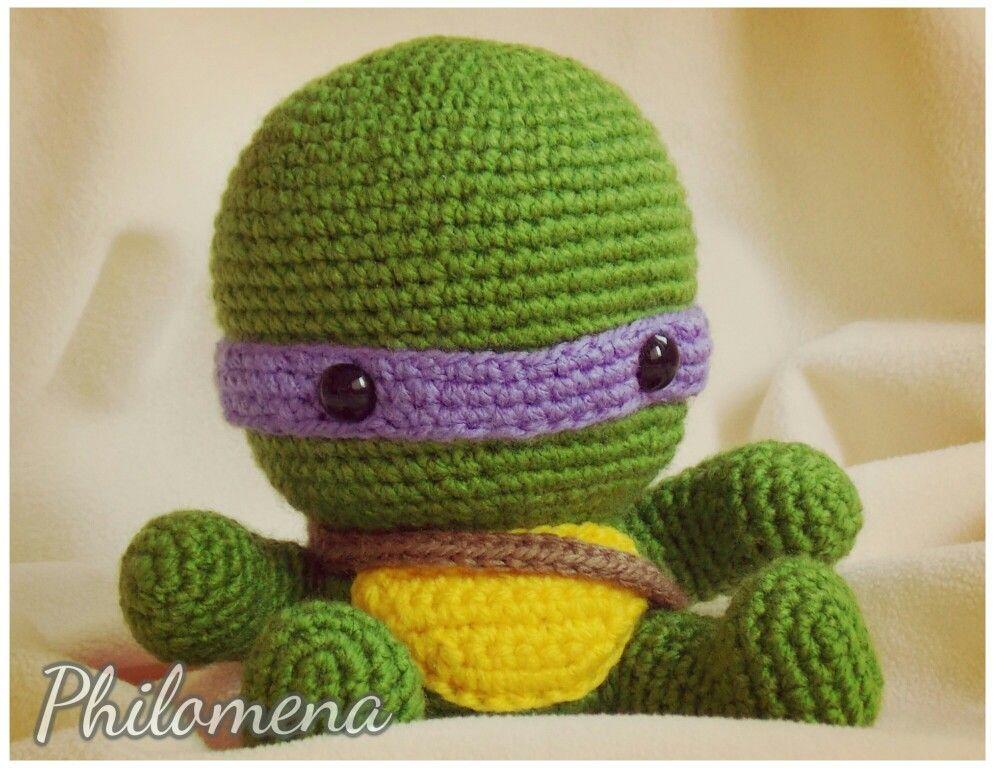 Tortuga Ninja by Philomena   Crochet I Like - Teenage Mutant Ninja ...