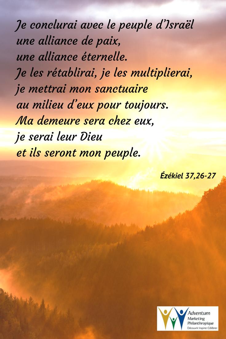 8 avril 2017 – Ézékiel 37,26-27   Ezekiel 37, Poster, Screenshots