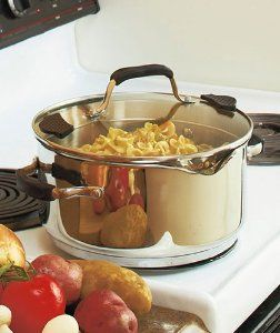The Sharper Image 5qt Stainless Steel Stockpot By The Sharper Image