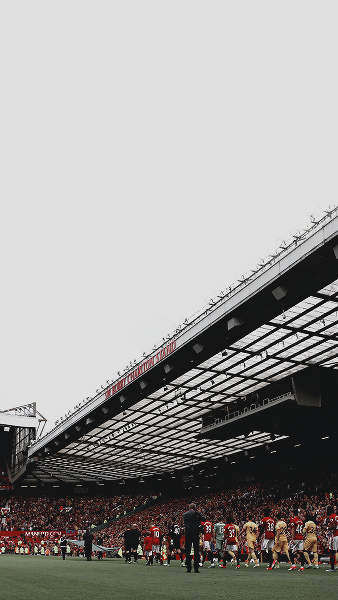 Old Trafford Stadium S Hd Wallpapers For Mobile Manchester United Wallpaper Old Trafford Manchester United Art