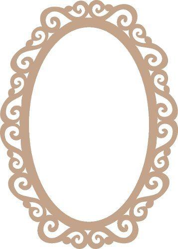 moldura para espelho estillo proven al mdf 3mm 60x40 r 47 70 decor lar moldura de espelho. Black Bedroom Furniture Sets. Home Design Ideas