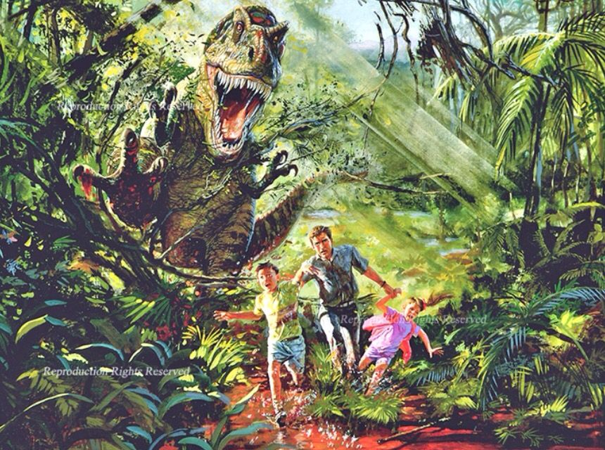 New concept art from Jurassic World reveals a much scarier ... |The Lost World Jurassic Park Concept Art