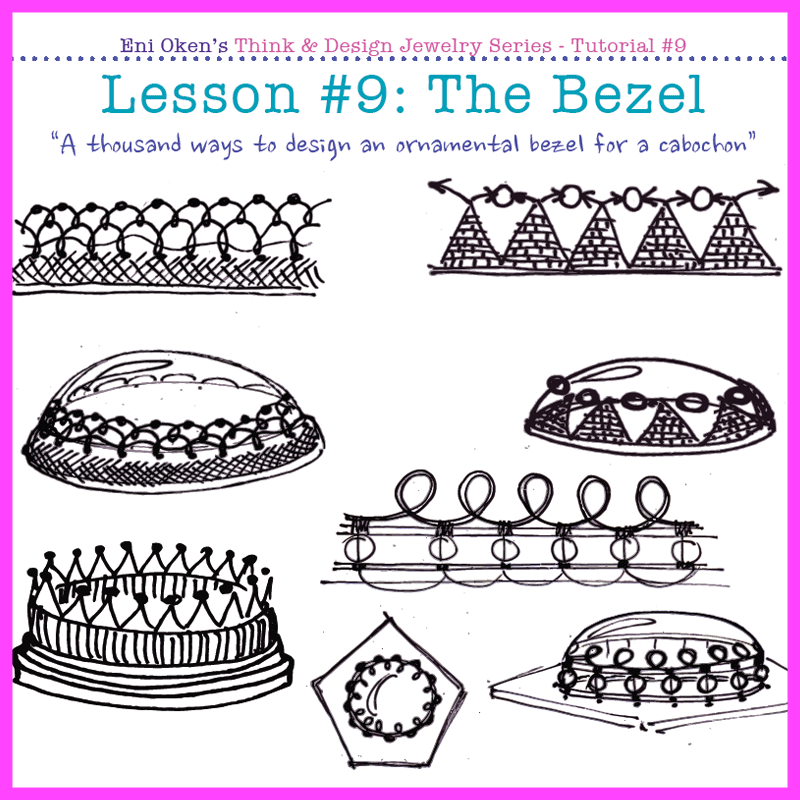 Love to set cabochons This lesson is for you learn how to design