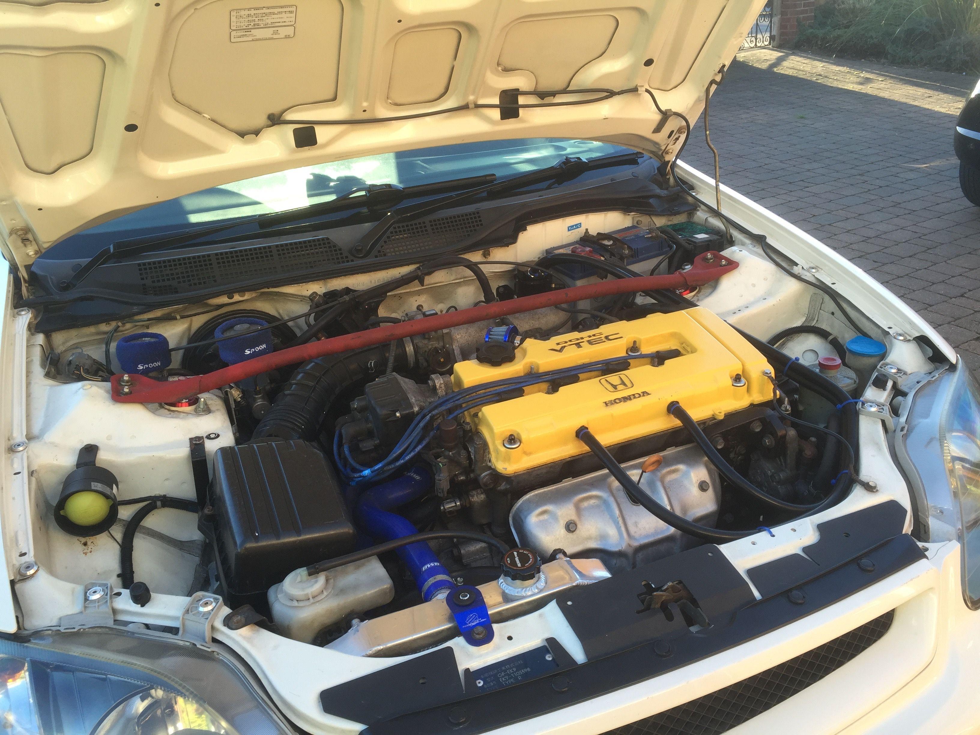 Honda B16B Found In The Civic Type R EK9 Photo