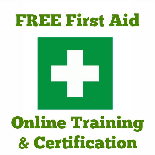 free first aid course and certification special pinterest
