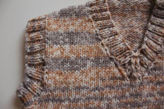 SALE Fair-isle Sweater Vest Knit Baby Boy Baby by BearandHedgehog ...