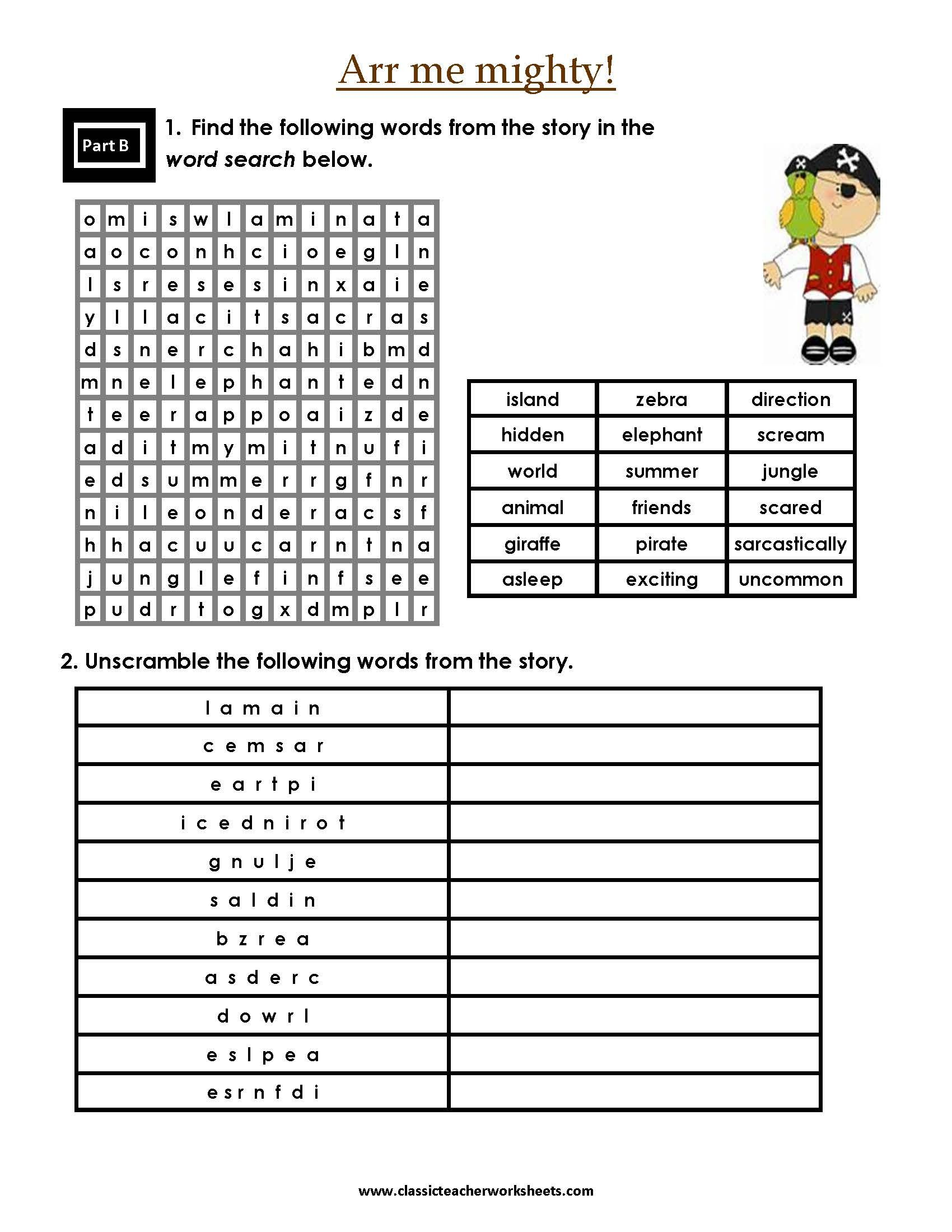 Check Out Our Collection Of Reading Worksheets At