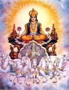 Surya is known in the religion of India as the Sun and the Sun God ...