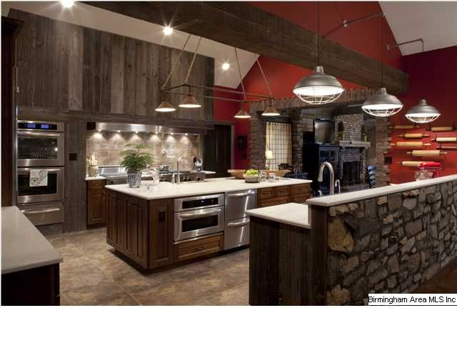Beau I Really Want A Hibachi Grill Beside My Stove Like This Kitchen Has.