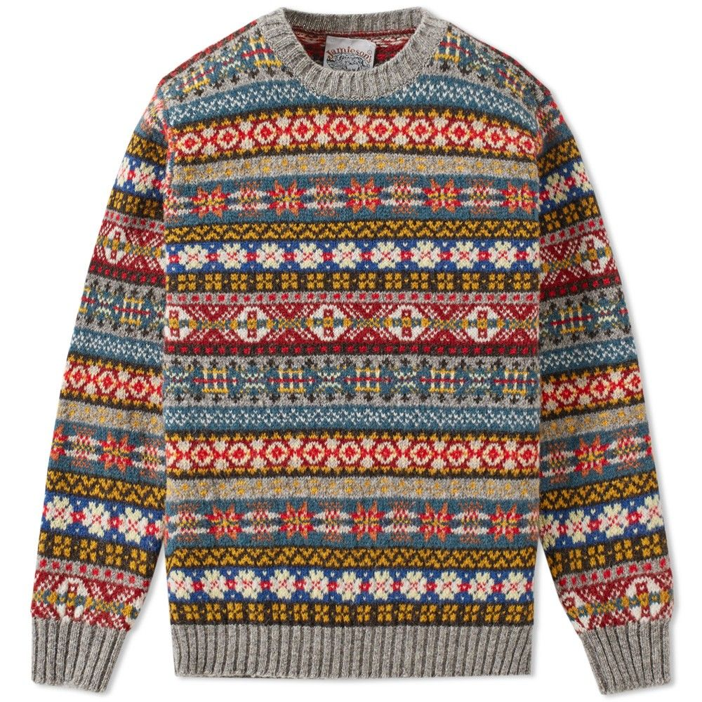 Authentic Fair Isle Sweater