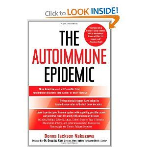 The Autoimmune Epidemic - I will be going to the Vasculitis Center at JH this summer...wonder if I can get this autographed while I am beeing boiopsied and having my blood drained.?