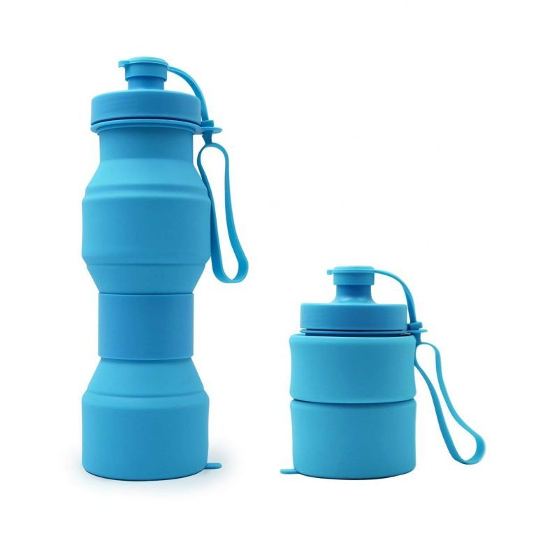 Space Saving Collapsible Water Bottle for Sports Outdoor Travel