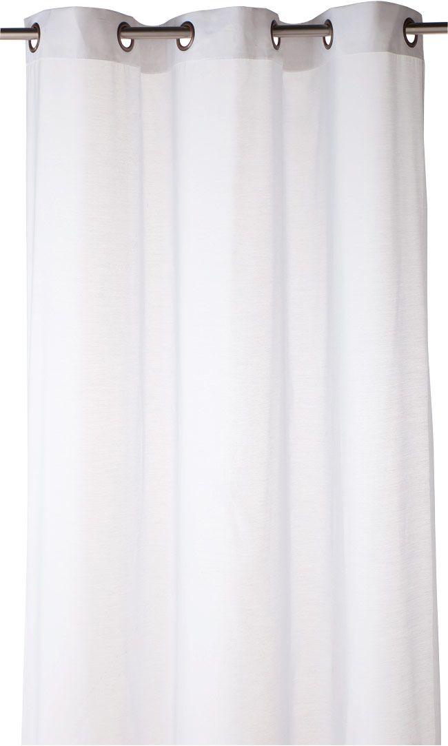 Voilage COLOURS Olympe blanc 140 x 240 cm | Voilages, Castorama et ...
