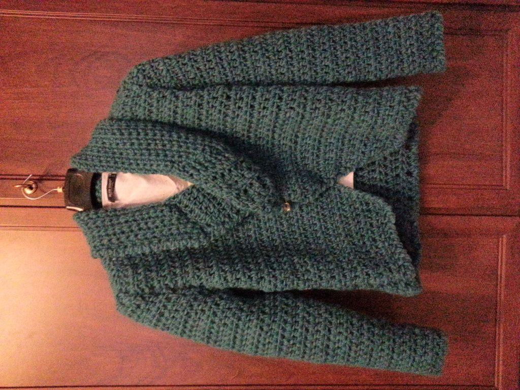 giacca lana a crochet, by Il Baule della Nonna, 65,00 € su misshobby.com