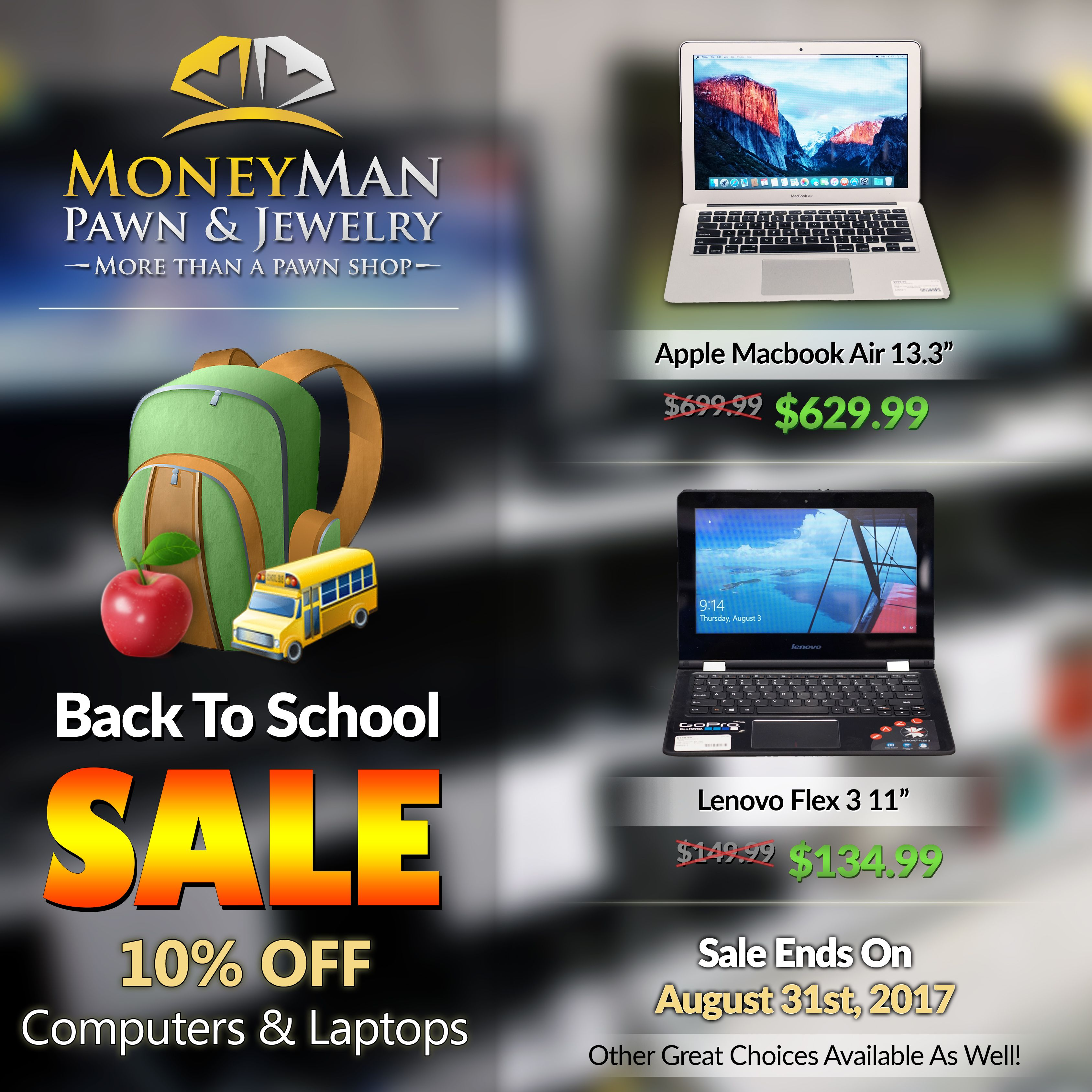 Enjoy 10 off Laptops & Computers! On sale NOW!