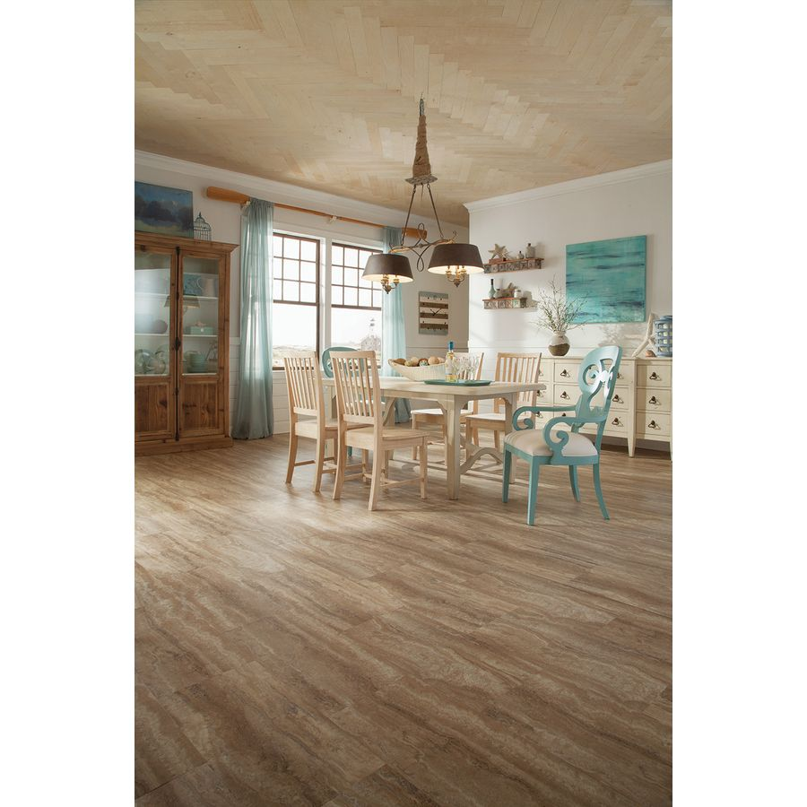 Shop stainmaster 12 in x 24 in groutable nantucketlight brown shop stainmaster 12 in x 24 in groutable nantucketlight brown peel luxury vinyl tilevinyl tilesflooring dailygadgetfo Gallery