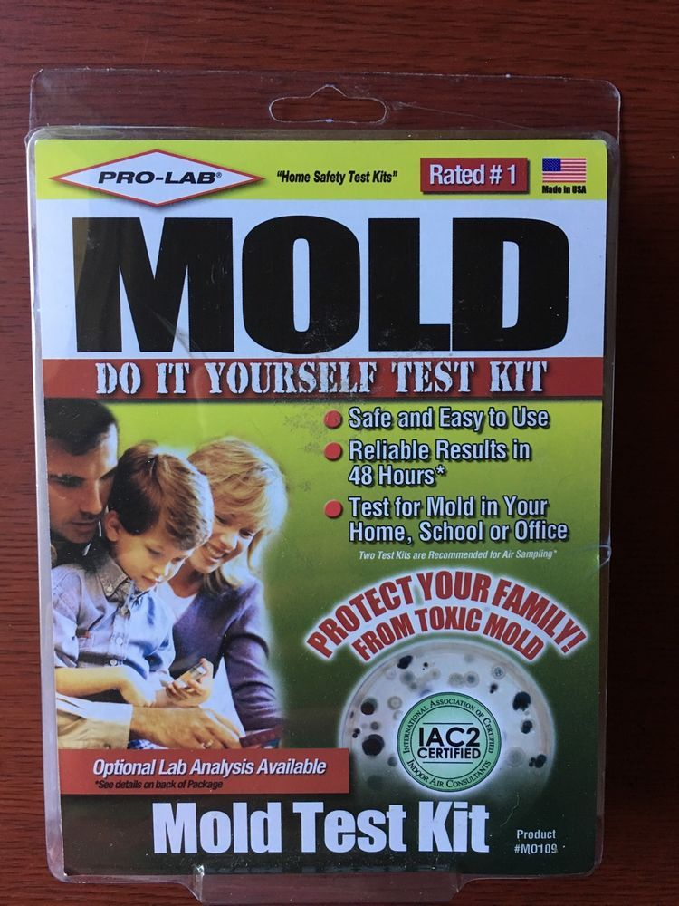 New Pro Lab Mold Test Kit Detects Black Mold 48 Hours