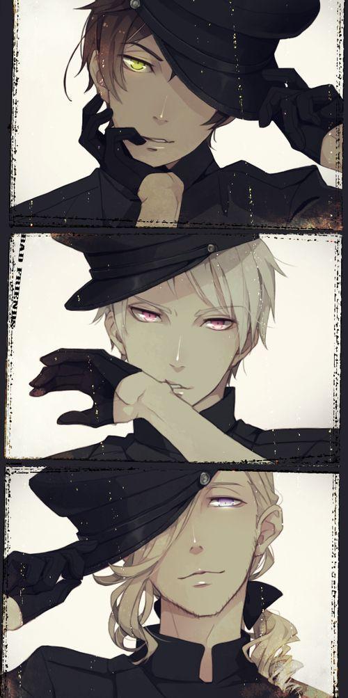 Different Poses Anime Guys Hetalia Anime