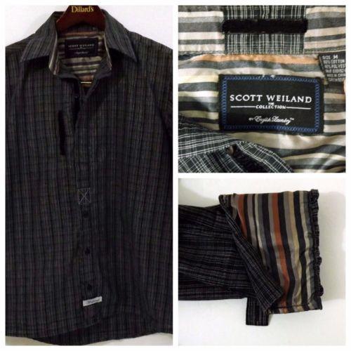 Ln Men S Scott Weiland English Laundry M Black White Ls