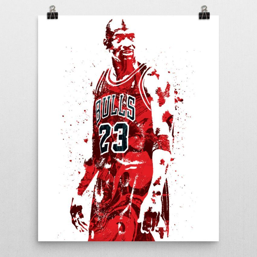 szeroki zasięg szczegóły dla Nowa kolekcja Michael Jordan Chicago Bulls Poster | Jordan Art | Michael ...