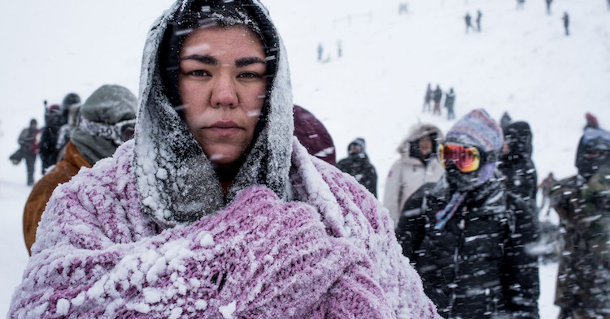 Photographer attends Standing rock.