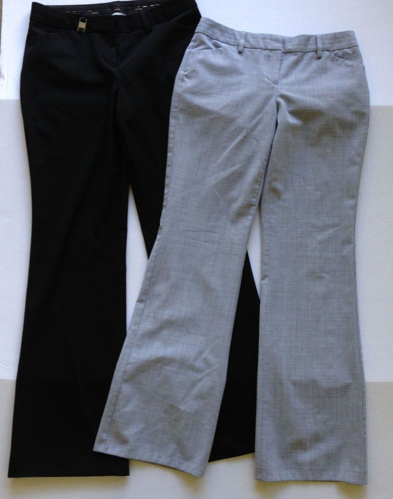 Express Women S Sz 2r Dress Work Pants Lot Of 2 Black Gray 32 Inseam Editor Express Clothing Women Clothes For Women Dresses For Work [ 1000 x 789 Pixel ]