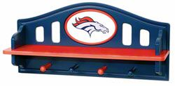 Denver Broncos Shelf With Pegs $49.99 http://sportsstore.usatoday.com/Denver-Broncos-Shelf-With-Pegs-_-288662711_PD.html?social=pinterest_pfid47-13582
