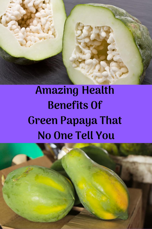 Green papaya has high concentrations of vitamin E, amino acids, and vitamin C. #greenpapaya #papaya...