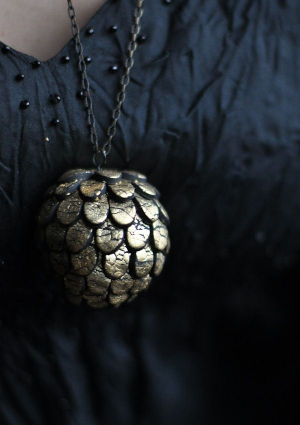 DIY Artichoke Pendant Tutorial