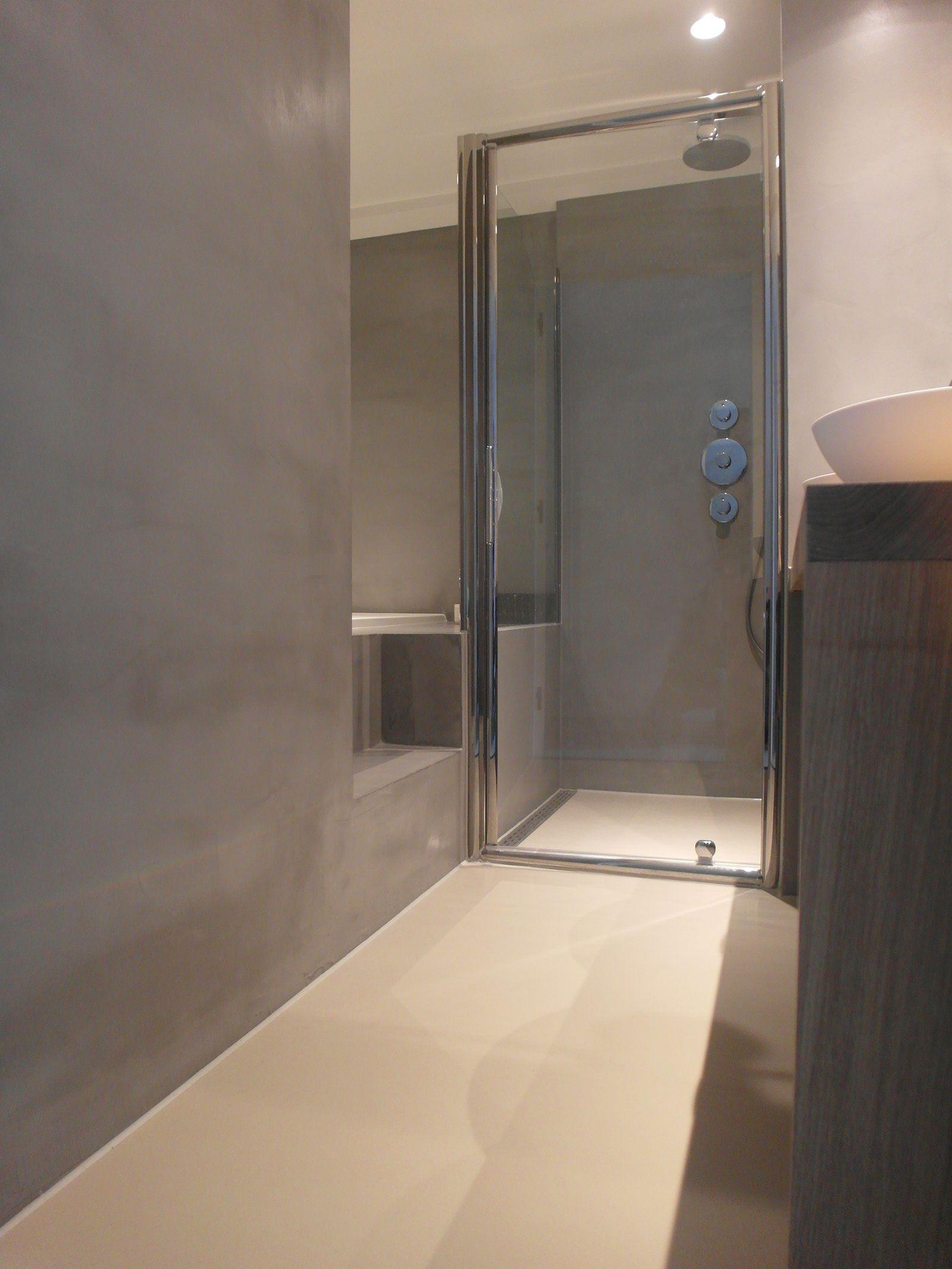 Gietvloer badkamer Amsterdam microcement | Bewaren.. | Pinterest ...