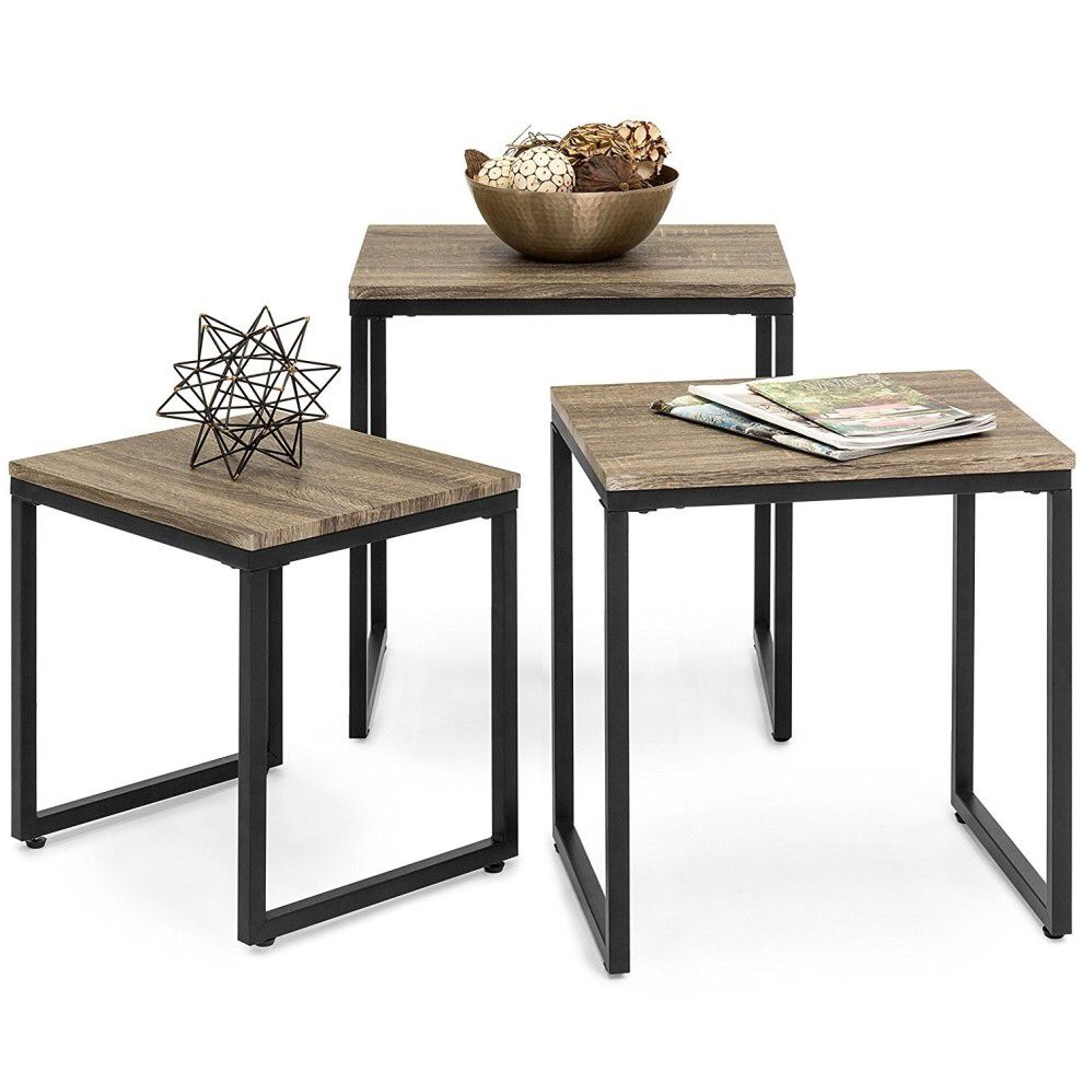 A Set Of Three Nesting Tables To Jazz Up Your Living Space And
