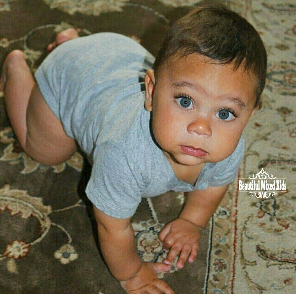 Matthew - 9 Months • Ukrainian & African American ...