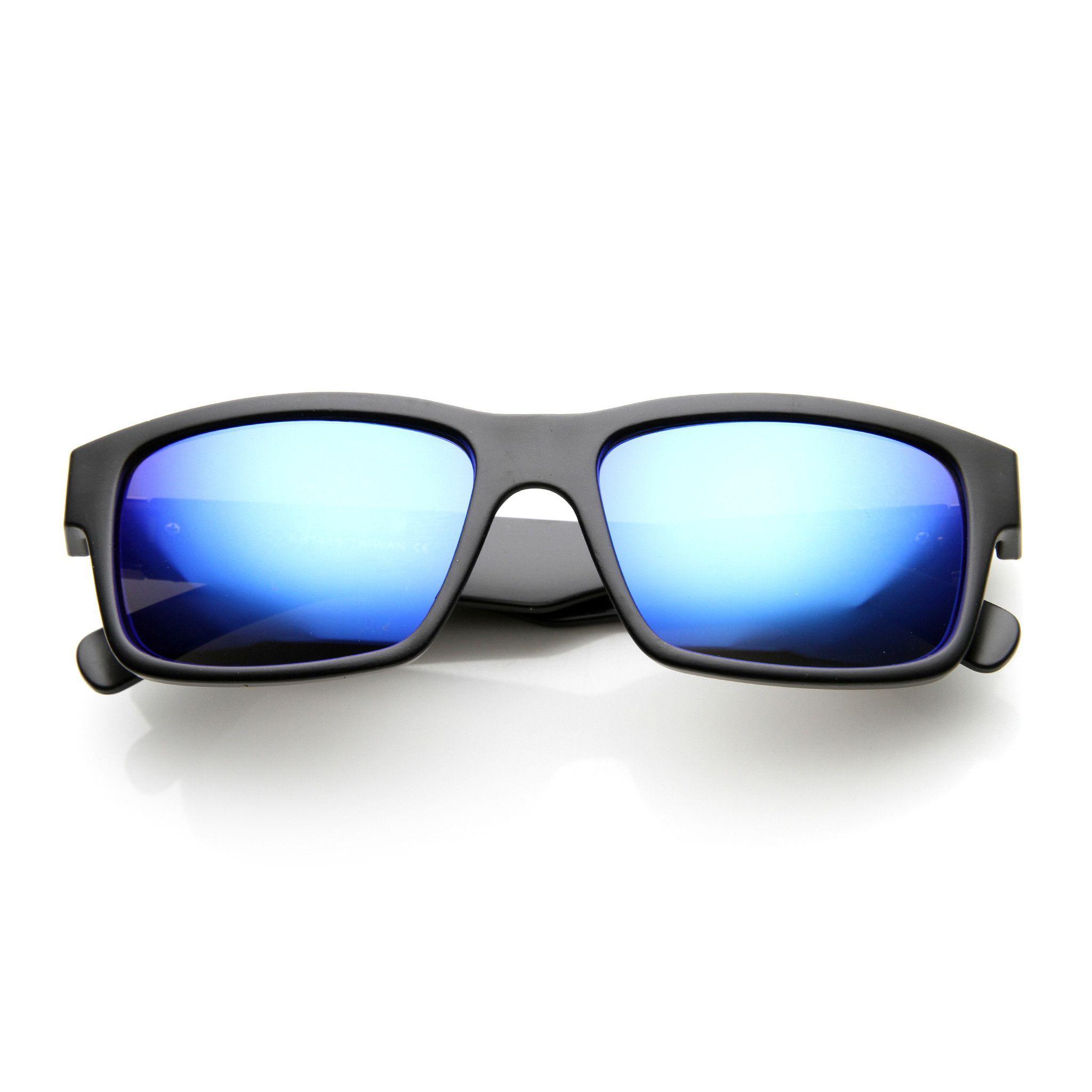 Premium Action Sports Square Revo Lens Sunglasses - zeroUV ...