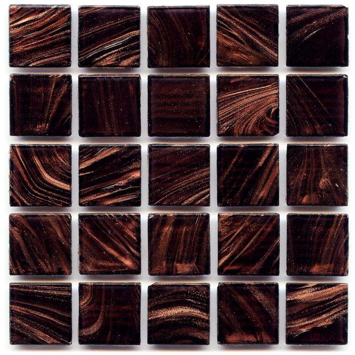 Aventurine - Wisteria 3/4x3/4-in Translucent Glass Tile ...