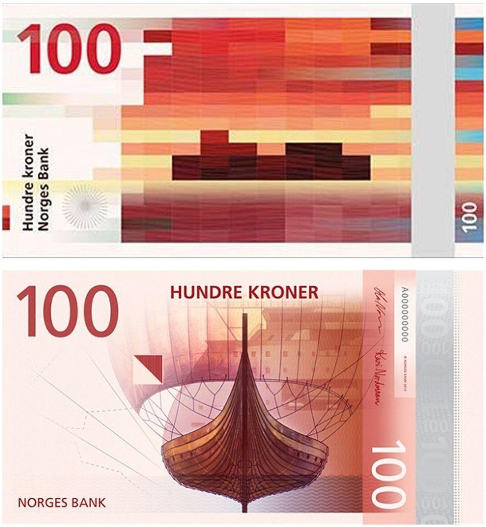 100 Beautiful Designer Bedrooms: Splashing The Cash: Norway's Beautiful New Banknotes