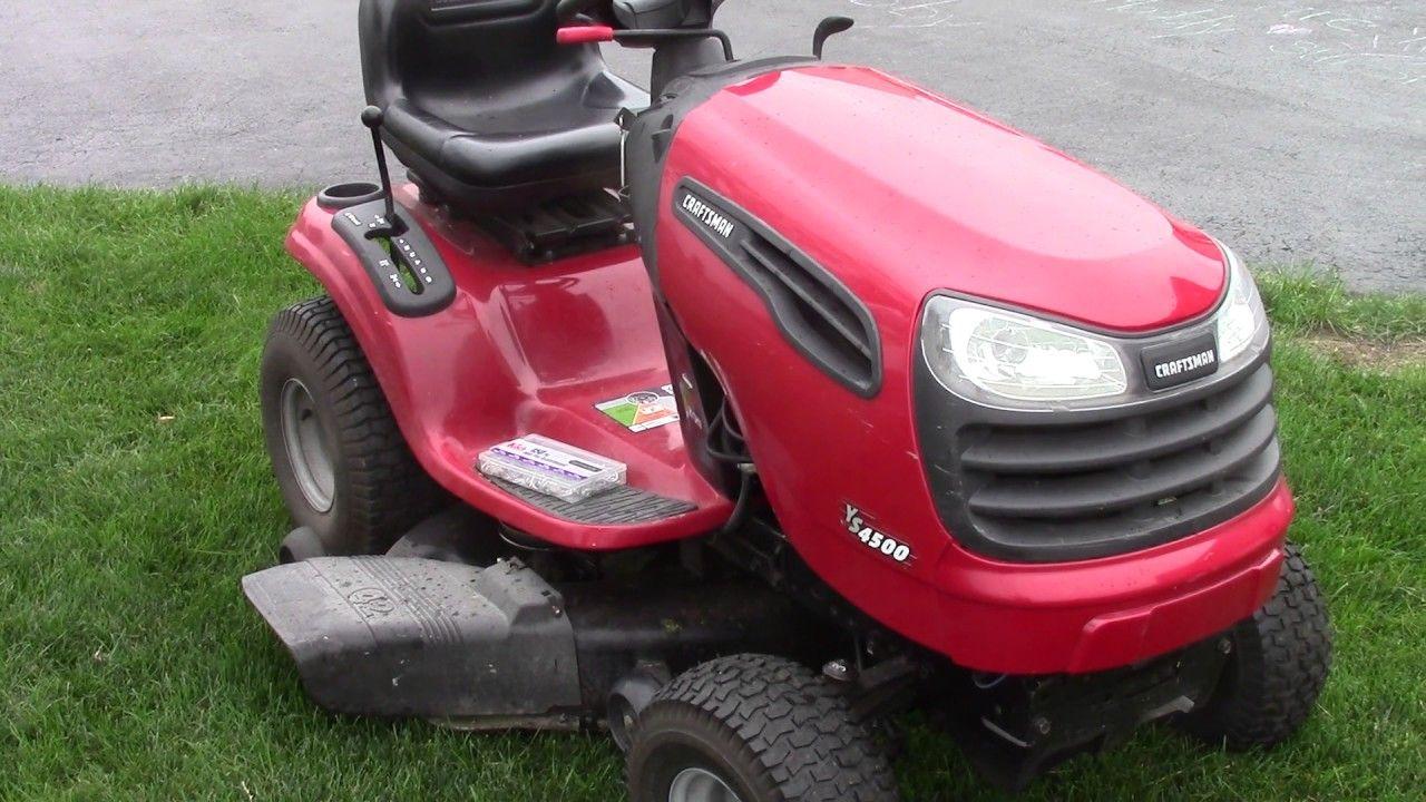 Craftsman Husqvarna Tractor Fix Level Deck Hack In 2020 Riding Mower Deck Lawn Mower Storage