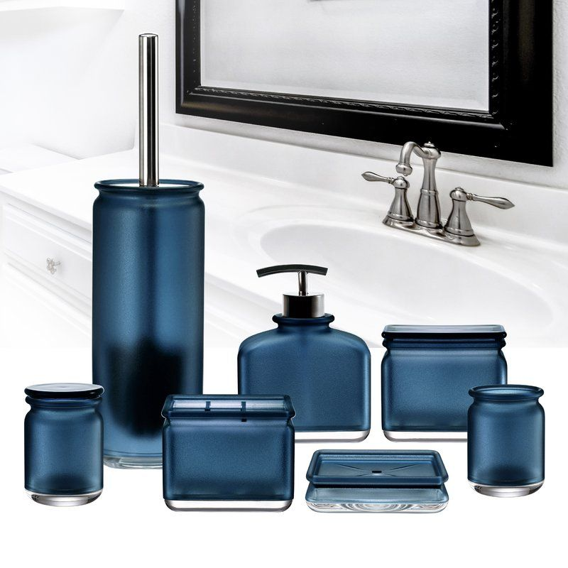 everyday 7 piece bathroom accessory set