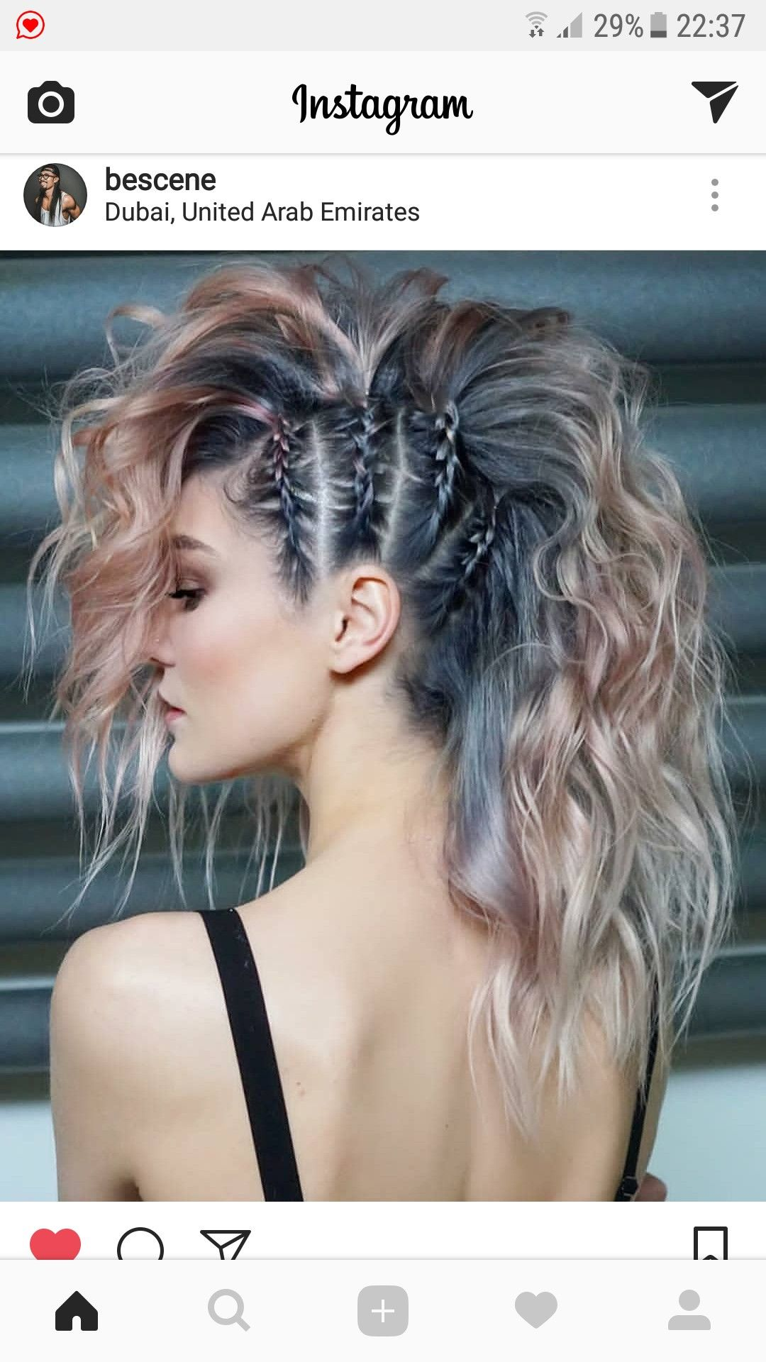 pretty cool 😎 | hair styles & color in 2019 | long hair