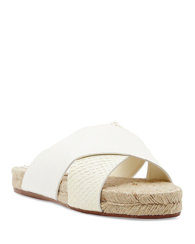 Dolce Vita Espadrille Slide Sandals - Genivee Criss Cross Embossed | Bloomingdale's
