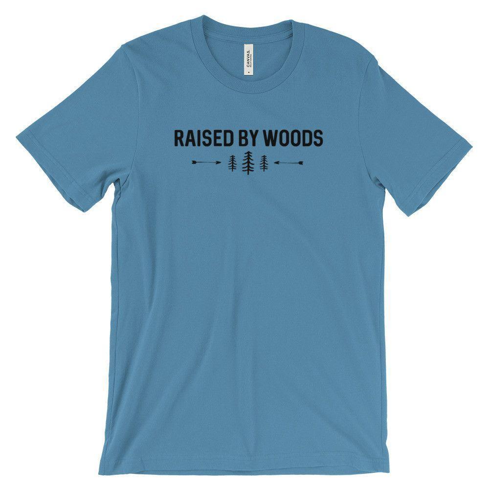 """""""Raised By Woods"""" Tee"""
