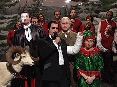 Snl Christmas Special.Snl S Robert Goulet Holiday Special Saturday Night Live