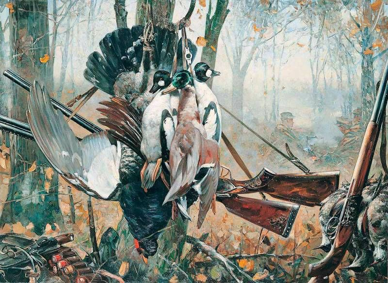 Ohota Rybalka V Zhivopisi 16 Tys Izobrazhenij Najdeno V Yandeks Kartinkah Hunting Art Painting Art