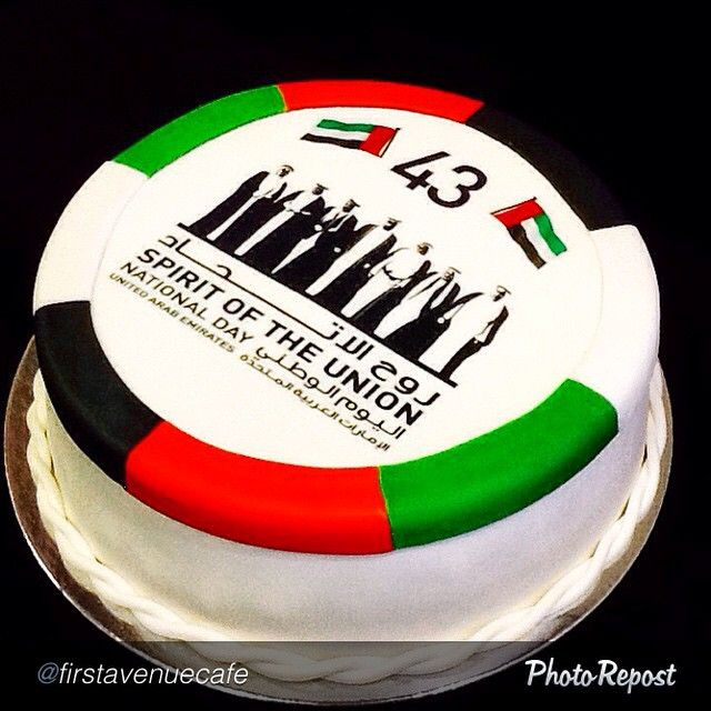 Uae Food Uaefood Let The Party Start With This Cake Uae National Day Food Themed Cakes