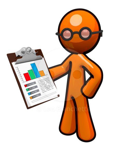 clipart illustration orange man reviewing business chart stock image rh pinterest com au orange man clipart Annoying Orange